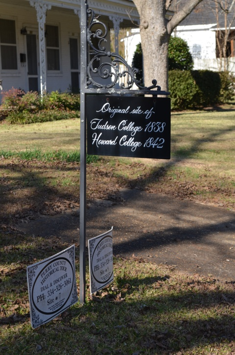 original site HC 1842 sign