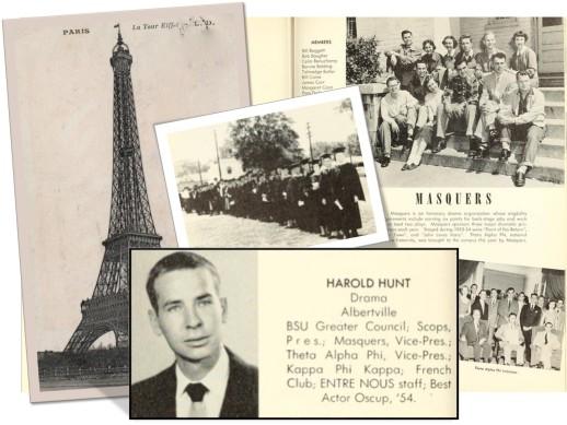 Harold Hunt's Senior Year paris
