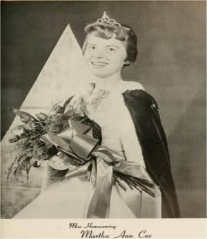 Martha Ann Cox Miss Homecoming 1960 EN (3)