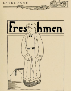 Freshman Entre Nous 1925