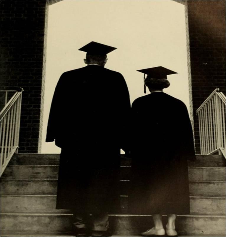 graduation sillhouette 1963 EN