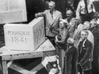 cornerstone ceremony 1955